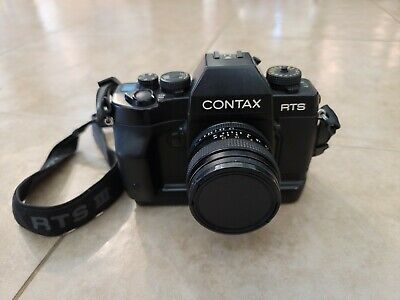 $ CDN623.65 • Buy Contax RTS III 35mm SLR Film Camera With Zeiss 50mm 1.7 Planar T Excellent Cond.