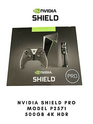 $ CDN187.98 • Buy NVIDIA Shield TV Pro 4k HDR Streaming Media Player. Model P2571 500 GB Storage