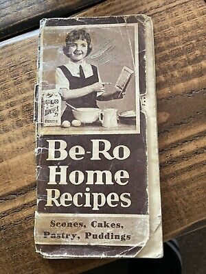 Vintage Be-Ro Cookbook 17th Edition Classic Recipes • 5£