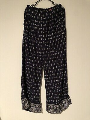 AU16.50 • Buy Tigerlily Indigo Wide Leg Pants Size 14