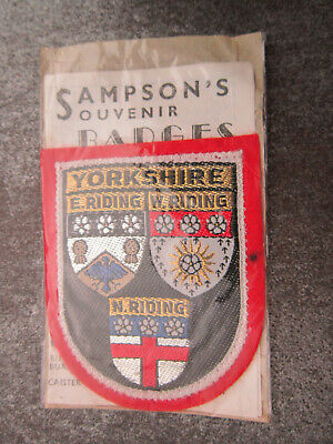 £3.99 • Buy Yorkshire Woven Cloth Patch Badge (L43S)