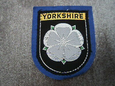 £3.99 • Buy Yorkshire Woven Cloth Patch Badge (L44S)