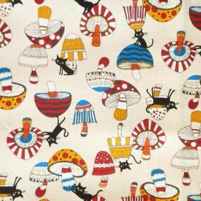 £4.95 • Buy Cotton Fabric  Fat Quarter Japanese Import - Coco Land Natural