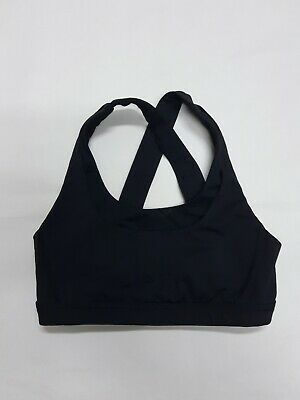 $ CDN23.26 • Buy Lululemon Yoga Jogger Workout Sports Bra In Black Size 4 +GREAT+