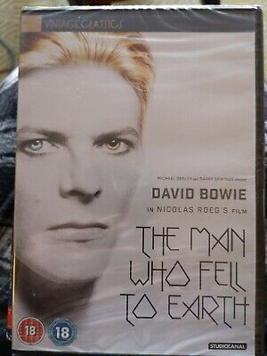 The Man Who Fell To Earth : Region 2 DVD • 3£