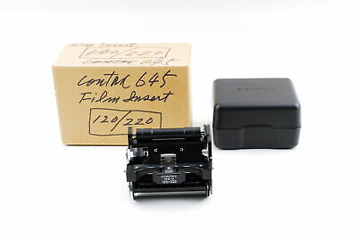 $ CDN604.59 • Buy [Unused] CONTAX 645 MFB-1A 120/220 Film Insert From JAPAN