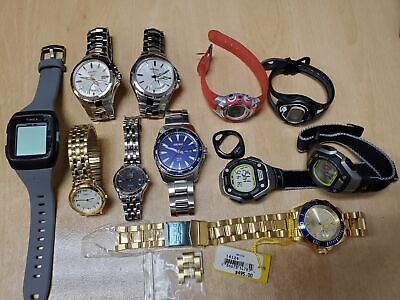 $ CDN47.62 • Buy Lot Of 10 Dead/Defective Invicta, Seiko, Timex, Citizen And Carriage Watches