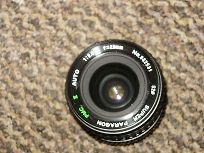 Minolta MD Fit 28mm F2.8 Super Paragon PMC II Macro Wide Angle Lens - Nice • 17.99£