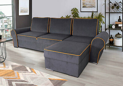 £699 • Buy Quality Corner Sofa Bed With 2 Storage Compartments. Very COMFORTABLE***