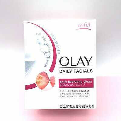 AU19.31 • Buy OLAY Daily Facials Hydrating Clean. New 5 In 1 Cleansing Power.