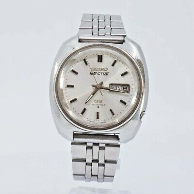 $ CDN175.44 • Buy Vintage SEIKO 5 ACTUS SS 6106-8470 AUTOMATIC MENS WATCH JAPAN STAINLESS STEEL