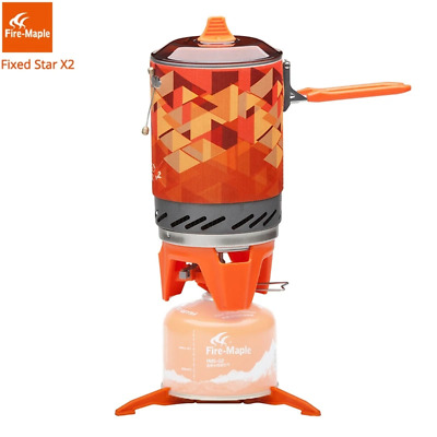 AU170.29 • Buy Fire Maple X2 Outdoor Gas Stove Burner Tourist Portable Cooking System With Heat