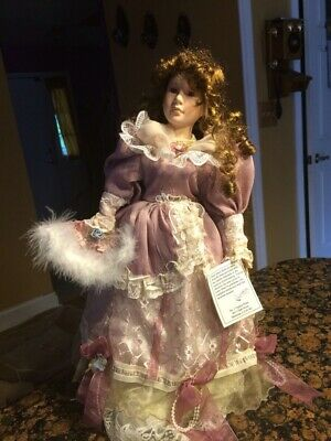 "$ CDN37.60 • Buy Victorian Porcelain Doll 18 ""Tall Heirloom"
