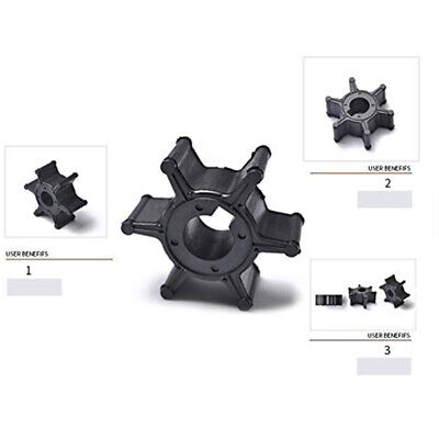 AU14.64 • Buy Water Pump Impeller Boat Parts Mini Engine Outboard Motors For Yamaha 9.9 15HP