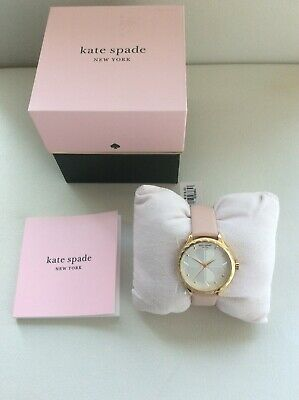 $ CDN95.05 • Buy KATE SPADE Pink Leather Gold Scallop Watch BNWT