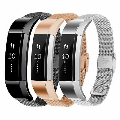 AU13.97 • Buy For Fitbit Alta / Alta HR Band Strap Stainless Steel Magnetic Milanese Wristband