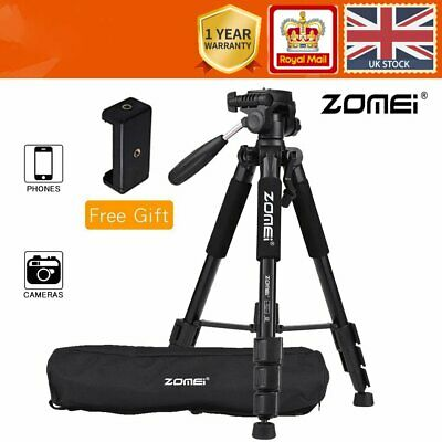 £19.99 • Buy ZOMEI Q111 Camera Travel Tripod With Quick Release Plate Phone Holder For Phones