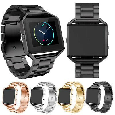$ CDN12.81 • Buy For Fitbit Blaze Watch Classic Tracker Stainless Steel Bracelet Strap Watch Band