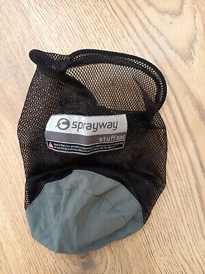 £5 • Buy Sprayway Drawstring Stuff Sack Storage Pouch Bags For Backpacking Hiking