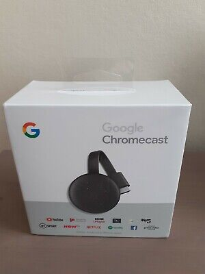 AU53.36 • Buy Google Chromecast BRAND NEW SEALED