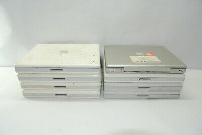 $ CDN240.48 • Buy Lot Of (8) UNTESTED UNINSPECTED Apple 12  IBook G4 & PowerBook G4