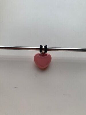 £15.50 • Buy Molly Brown Pale Pink Dolly Mixture Enamel Heart Charm MB30-2 PP RRP £31