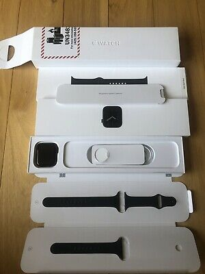 $ CDN413.54 • Buy Apple Watch Series 6 44mm Space Gray Aluminum Case With Black Sport Band  GPS