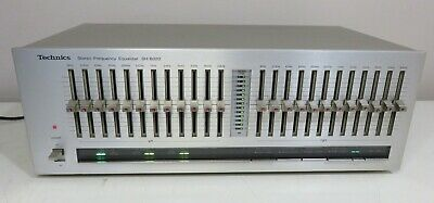 $ CDN687.39 • Buy Technics Sh-8020 Silver Stereo Equalizer Works A+ Serviced Recapped