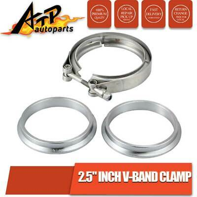 AU24 • Buy 2.5  Inch 64mm V-Band Flange Clamp Stainless Steel For Turbo Exhaust Downpipes
