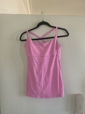 $ CDN7.50 • Buy Lululemon 8 Pink Workout Bra Top