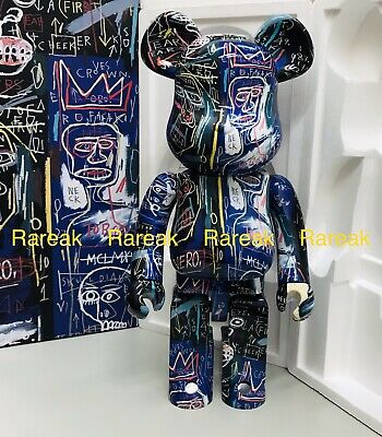$814.99 • Buy Medicom Bearbrick 2021 Jean-Michel Basquiat #7 Painting 1000% Be@rbrick