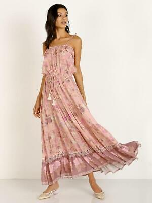 AU190 • Buy Spell Wild Bloom Strappy Pink Maxi Size XL
