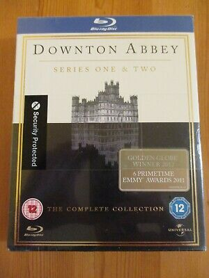 £4 • Buy Downtown Abbey - Series 1 & 2 Blu-ray  New / Sealed