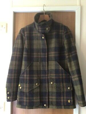 Ladies JOULES Fieldcoat Tweed Check HUNTING Style JACKET Size 8  • 69.99£