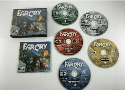 AU22.69 • Buy Far Cry 1 Ubisoft PC Game CD ROM Game Set (2004, 5 Disc) Complete W/ Manual