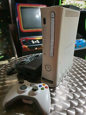 AU79 • Buy Xbox 360 White 20GB Console With Power Adaptor & Genuine Wireless Controller
