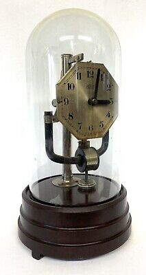 £292.50 • Buy Lovely Bulle Electric Clock Under Glass Dome For Repair