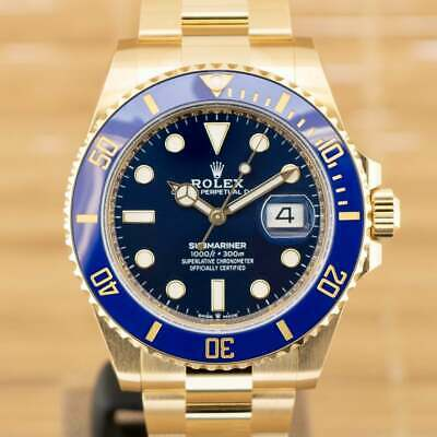 $ CDN56242.57 • Buy Rolex Submariner 126618LB - Unworn With Box And Papers November 2020