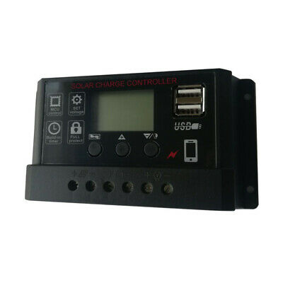 $ CDN20.66 • Buy 12/24V Automatic Universal Controller Lithium Lead Acid Solar Charge Controller