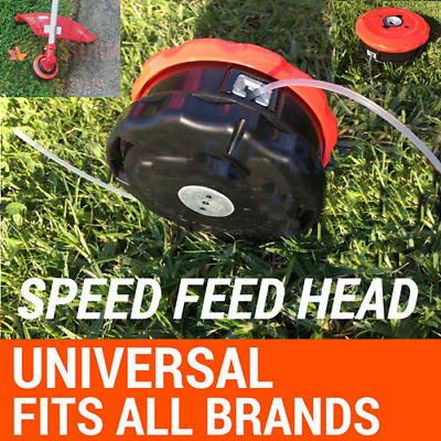 AU21.74 • Buy ABS Universal Bump Feed Line Trimmer Head Whipper Snipper Brush Cutter