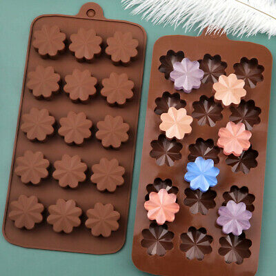 £2.98 • Buy Daisy Flowers Silicone Chocolate Mould Cake Soap Candy Mold Wax Melts Ice Tray