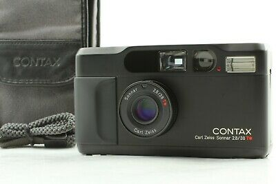 $ CDN2135.02 • Buy 【NEAR MINT In CASE W/ STRAP】 Contax T2 Limited Black 35mm Film Camera From JAPAN