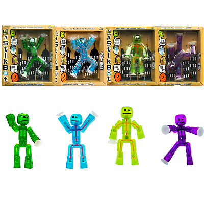 £5.99 • Buy StikBot Single Posable Action Figure Toy TRANSLUCENT 3