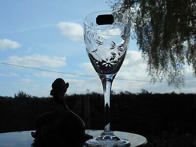 Royal Doulton Crystal  JASMINE  7    SMALL WINE Glass OR Glasses  • 15.95£