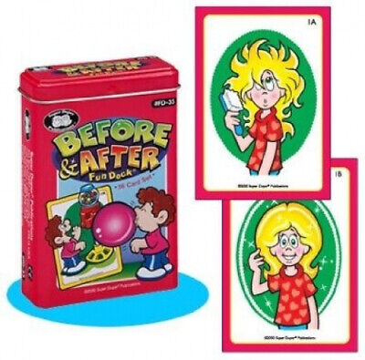 AU45.13 • Buy Before & After Fun Deck Cards - Super Duper Educational Learning Toy For Kids