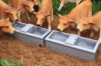 £9.99 • Buy Brushwood Toys 1:32 Scale Bt3058 Water Troughs X 2