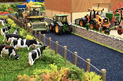 £10.99 • Buy Brushwood Toys 1:32 Scale Wide Tarmac Road Bt2094