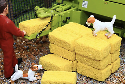 £11.99 • Buy Brushwood Toys 1:32 Scale Realistic Small Bales Bt3053 Farm Diorama (16 Pack)