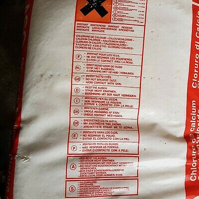 £140 • Buy Calcium Chloride Drying Desiccant De-icer 25Kg Bag X 5