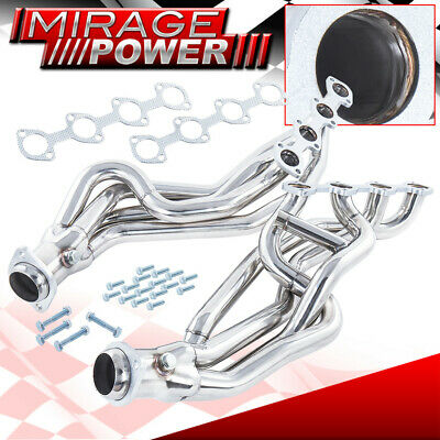$177.99 • Buy Long Tube S/S Exhaust Header Manifold For 1996-2004 Ford Mustang Gt Mach1 Bullit
